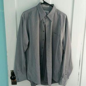 Alfani grey dress shirt